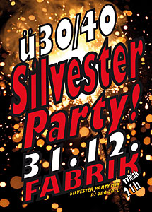 Silvester-Party Fabrik